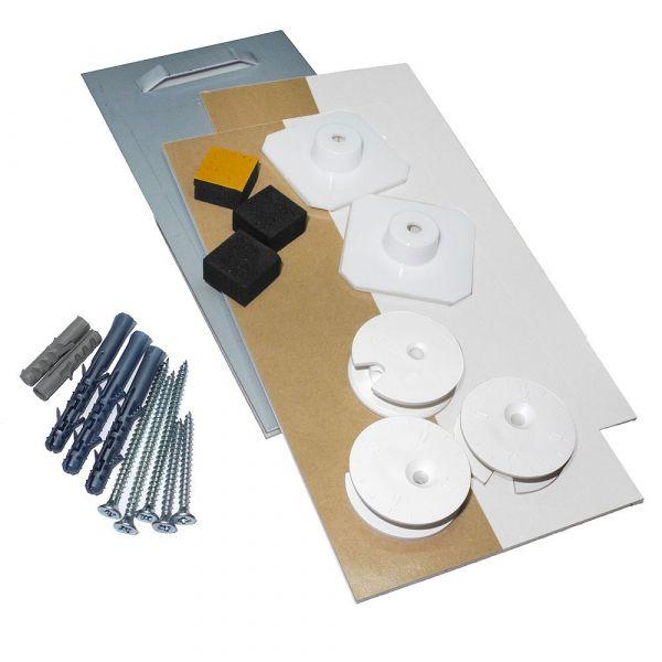 Spiegelbefestigung EM2 bis 1,6 m², 24 kg Plus-Set