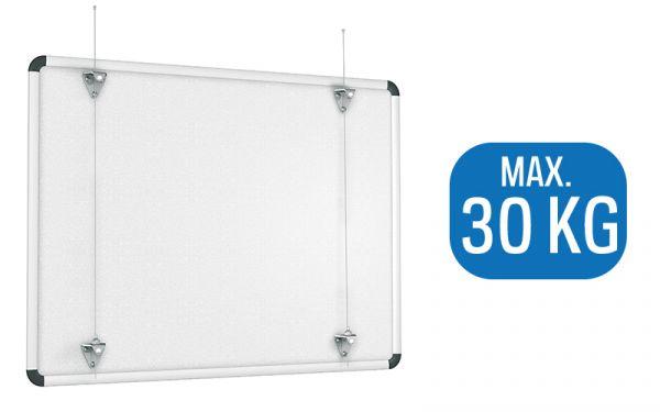 Artiteq Whiteboard-Set (ohne Stahlseil)