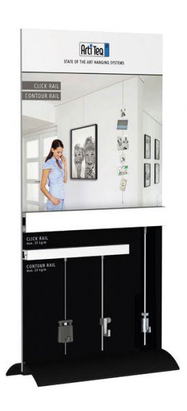 Artiteq - Display Click Rail + Info Rail
