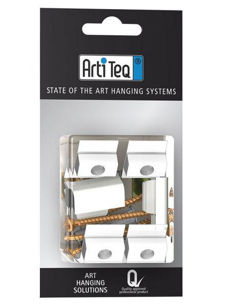 Artiteq Blister Art 5 Click & Connect (6x) + Schraube + Dübel
