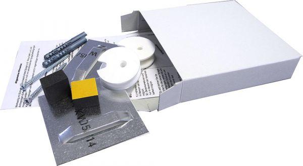 Spiegelbefestigung Exzenterscheibe, 12 kg, Profi Plus-Set