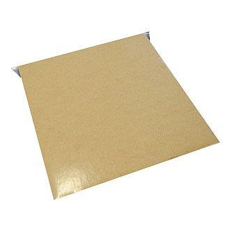 Spiegelblech 100 x 100 mm bis 6 kg, selbstklebend, gekantet