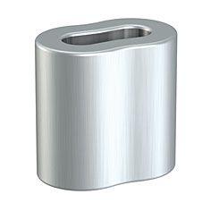 Drahtklemme 2 mm Alu, 100 Stück