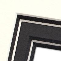 Kernfarben Passepartout nach Maß // ab 1,7 mm