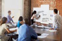 Rahmenloses Whiteboard Board-Up, Beispielkonfiguration 1
