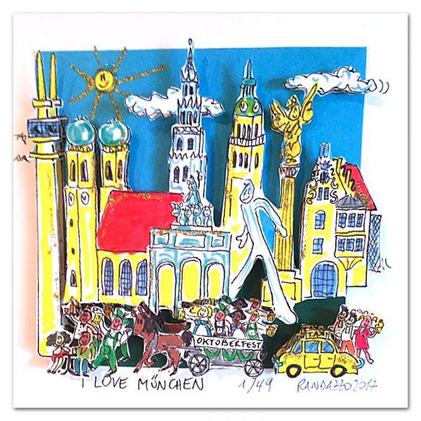 """Paolo Randazzo """"I Love München"""""""