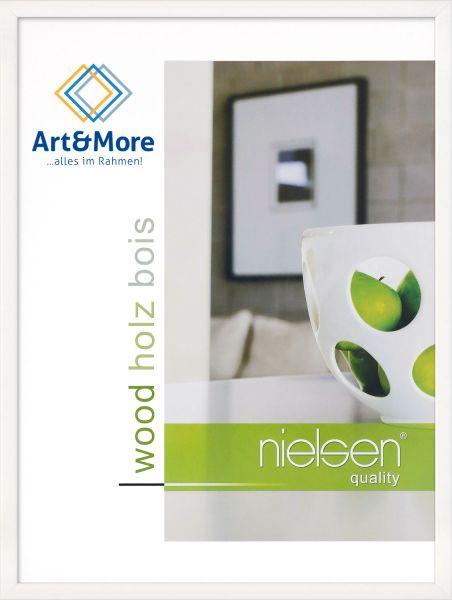 Holz Fotorahmen Nielsen Zoom in Weiß