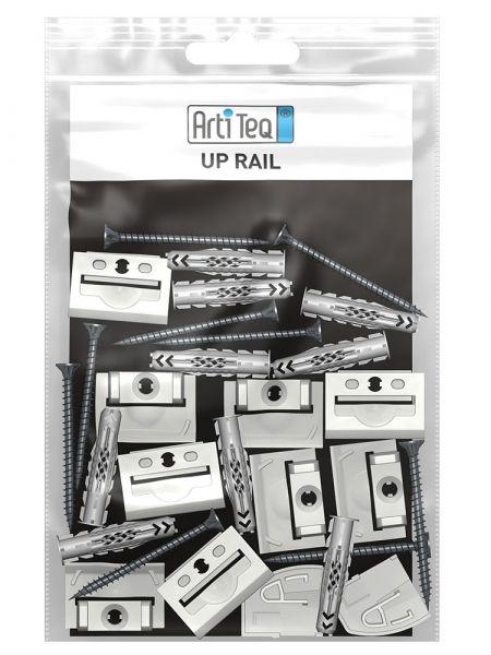 Artiteq - Set Befestigungsmaterial Up Rail 200 cm