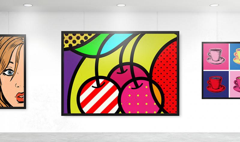 Bilderschienen zum Einbau in Decken oder Wänden