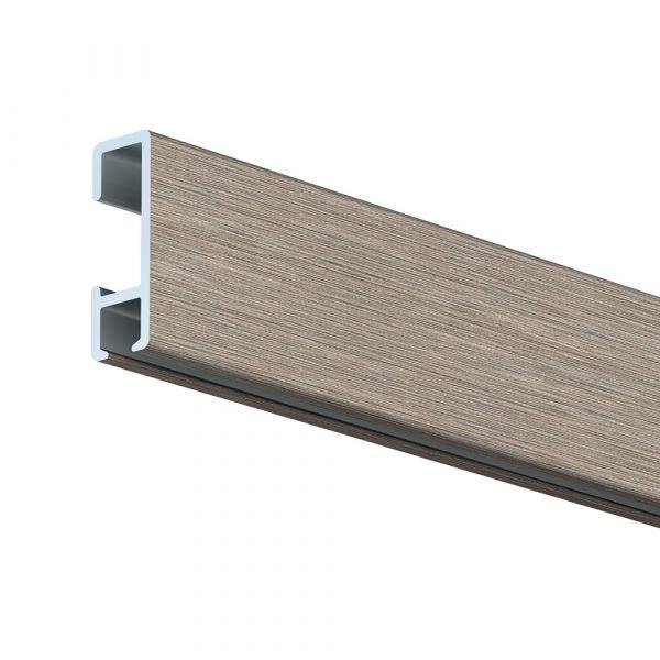 Artiteq Click Rail alu gebürstet 200 cm, 5 Stück