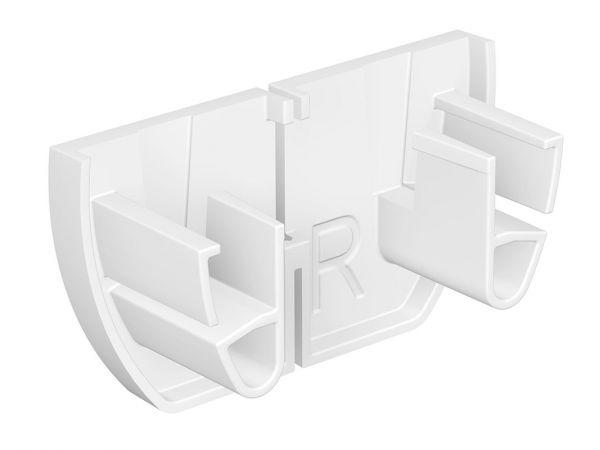 Artiteq - Set Endkappe Up Rail weiß (L&R)