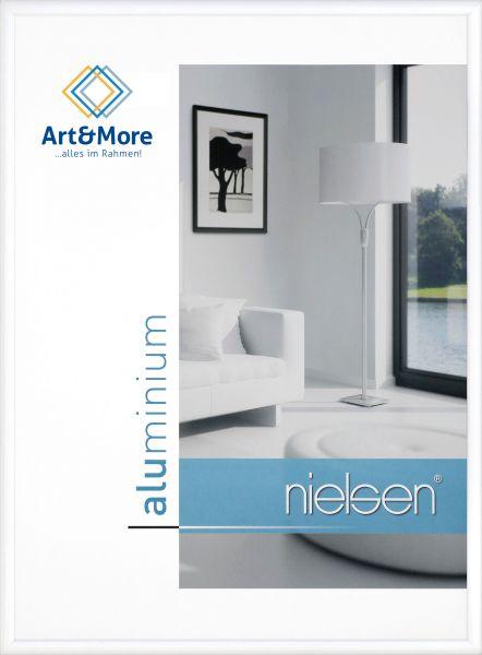 Bilderrahmen Nielsen Classic in Weiß glänzend