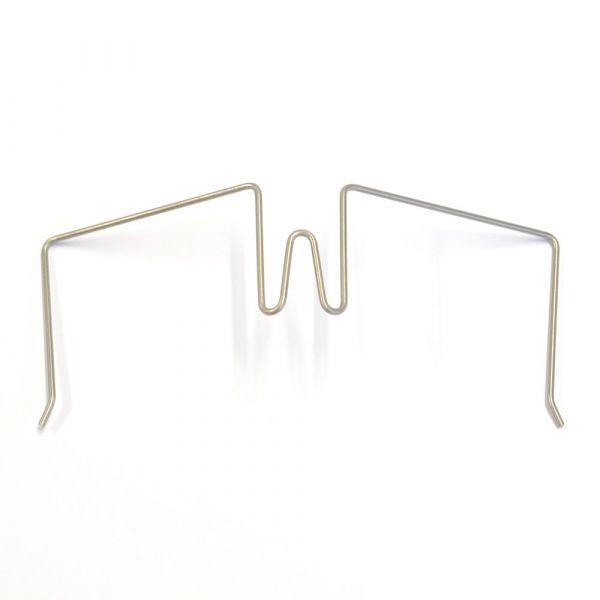 Stellwandhaken Flex in Silber, 31-55 mm Spannweite